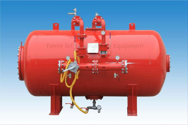 Horizontal Foam Bladder Tanks
