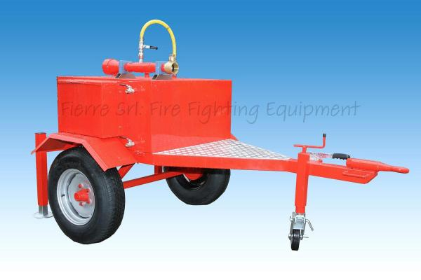 Monitor Trailer with Tank FI-CM