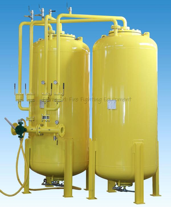 Double Foam Bladder Tanks